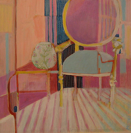 Chair in Pink Room