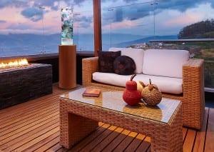 Sea Core on Porch