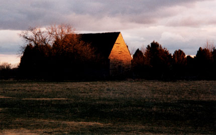 Barn at Dawn