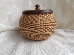 Nantucket-style basket by Mary Sue Joy