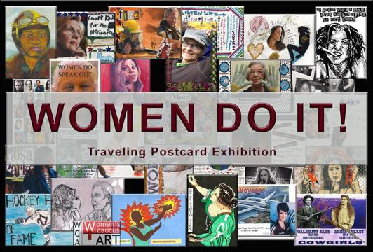 Women Do It Post Card