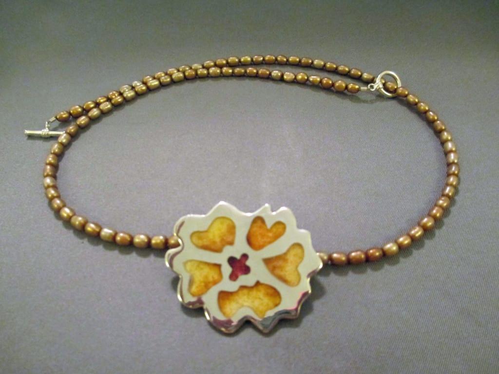 Sara-Paulson-yellowflower-champleve