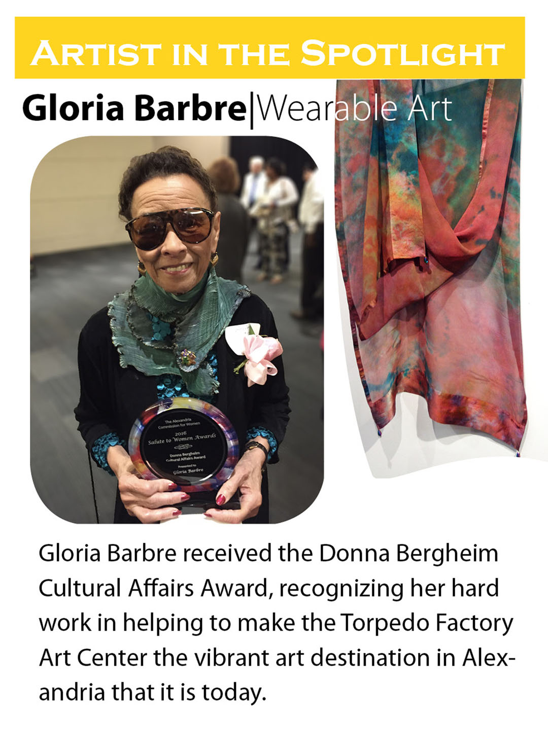 Spotlight- Gloria Barbre FW web