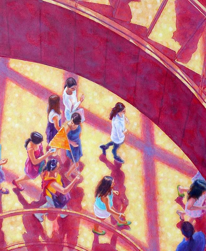 Bursting Open Abstract Art